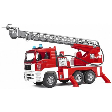 MAN TGA Brandweer Ladderwagen Waterpomp Bruder
