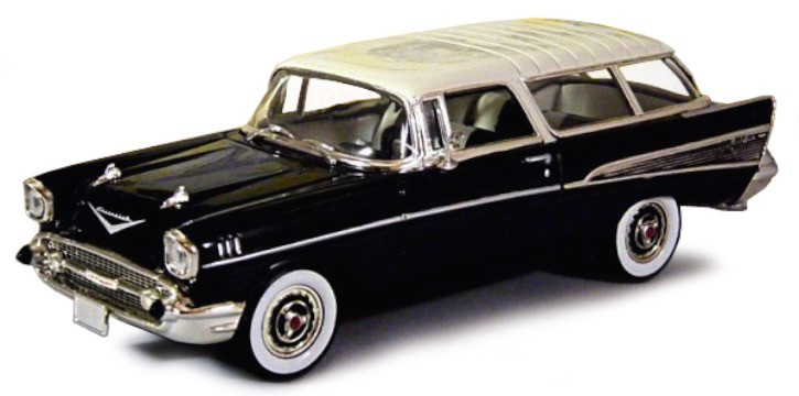 CHEVROLET NOMAD 1957 (ZWART) LUCKY LEGEND (1:43) LUCKY LEGEND