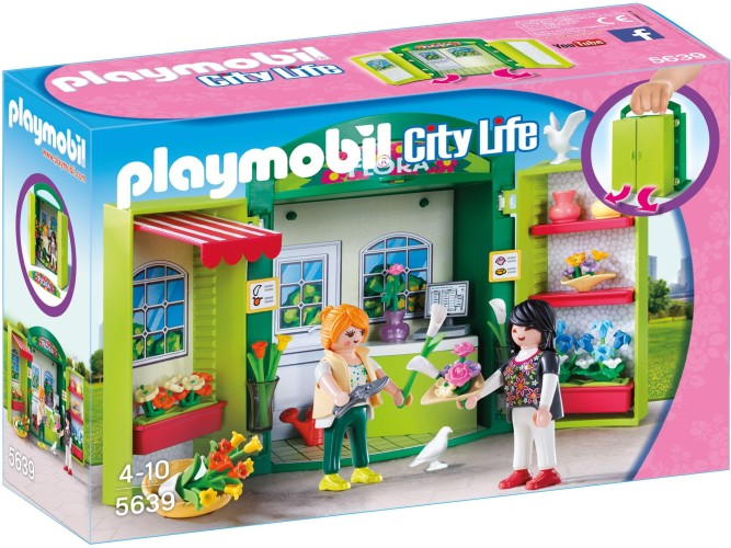 Speelbox Bloemenwinkel Playmobil (5639)