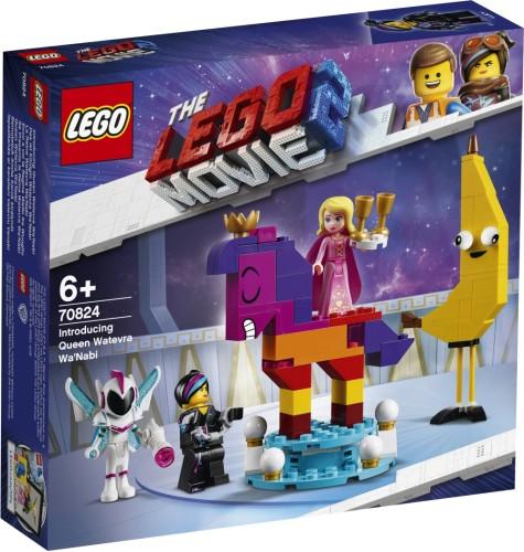 Maak kennis met koningin Wiedanook Watdanook Lego (70824)