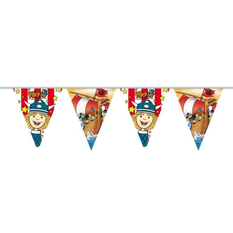 Vlaggenlijn Wickie de Viking Feest