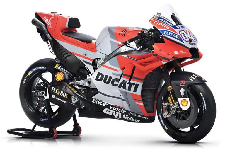 Ducati DESMOSEDICI 04 ANDREA DOVIZIOSO (MOTO GP 2018) (MAISTO 1:18)