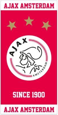 HANDDOEK AJAX ROOD/WIT SINCE 1900 50X100 CM