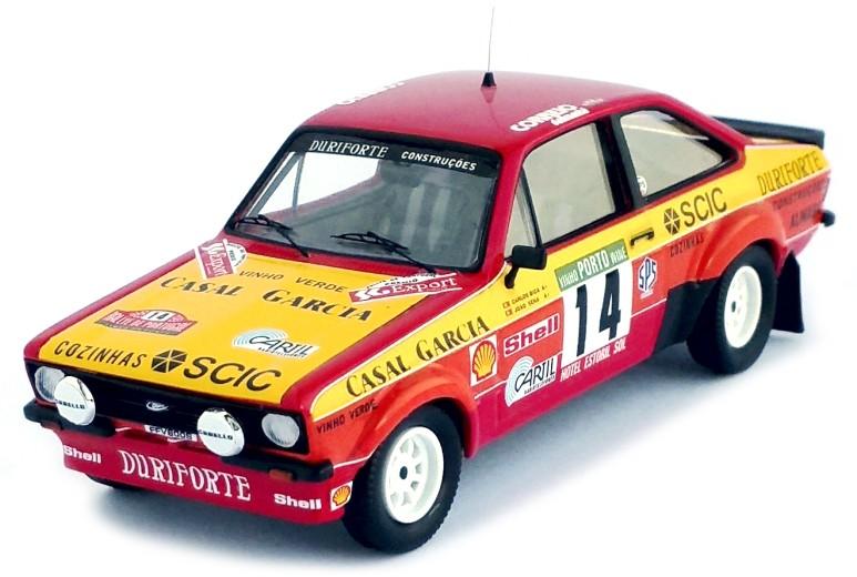 Ford ESCORT MKII 14 BICA-SENA RALLY PORTUGAL1985 TROFEU (1:43)