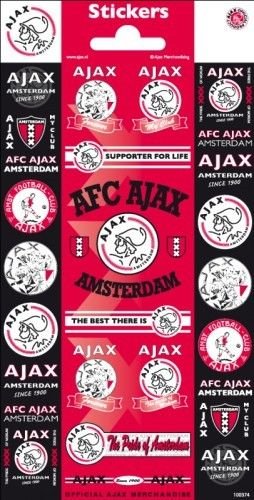 Ajax Stickers Vel Smal