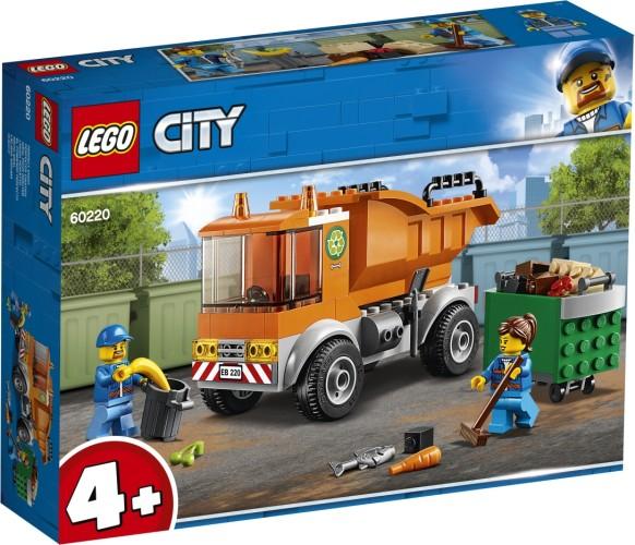 Vuilniswagen Lego (60220)