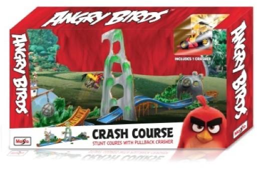 ANGRY BIRDS CRASH COURSE (1:64) MAISTO