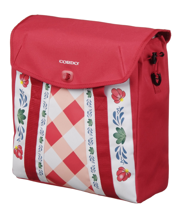CORDO GLORIOUS DUTCH SHOPPER/RUGTAS ROOD