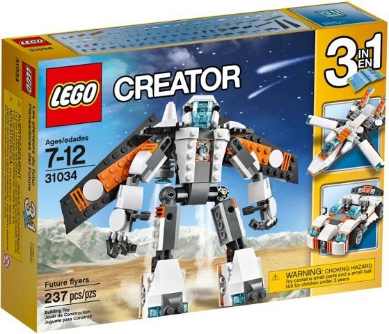 Lego Ruimte Robot Lego 31034