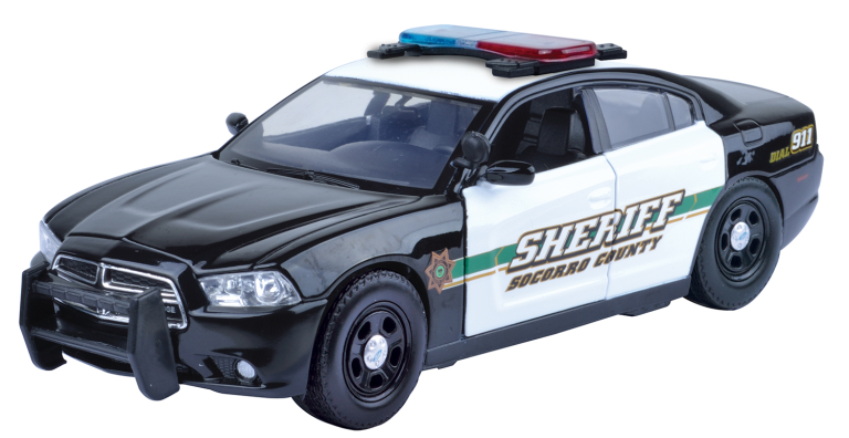 DODGE CHARGER PURSUIT SOCORRO COUNTY SHERIFF 2011 MOTORMAX (1:24)