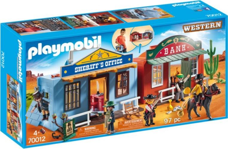 Playmobil Meeneem Western stad Playmobil (70012)