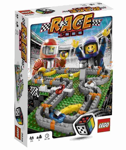 Race 3000 Game Lego 3839