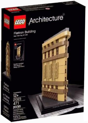 Architecture Flatiron Building Lego (21023)