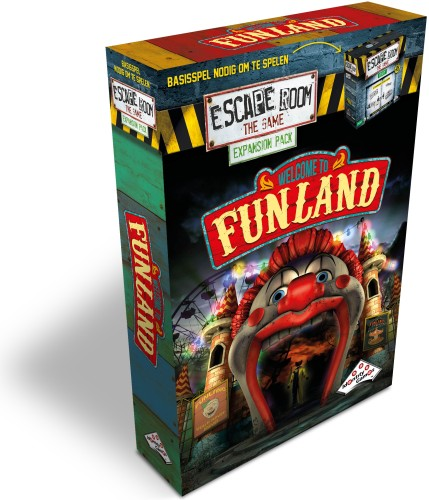 Escape Room the Game expansion welcome to funland