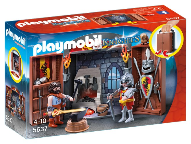 Playmobil Speelbox Ridder en Smid Playmobil (5637)