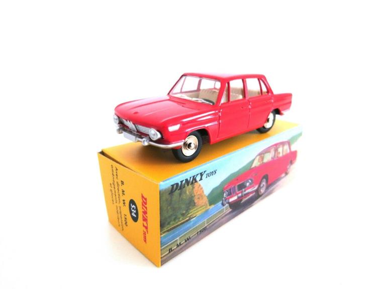 BMW 1500 ROOD (I:43) DINKY TOYS