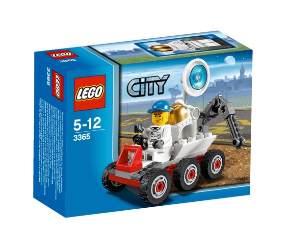 Ruimteschip Maanbuggy Lego 3365 City