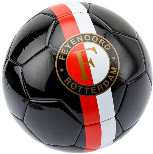 Bal Feyenoord leer groot zwart (BAL0200863)