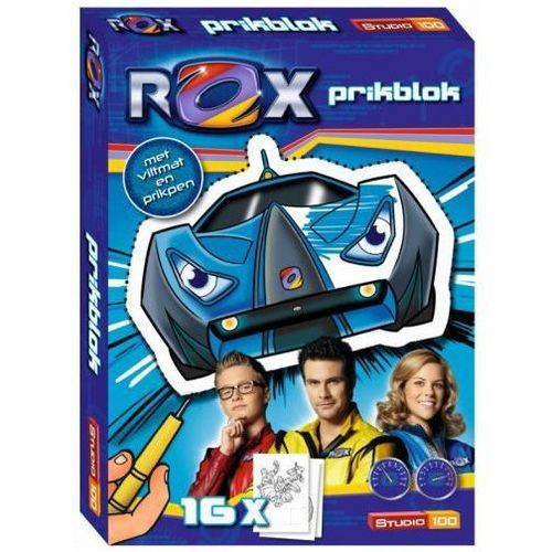 Prikblok Rox Boek