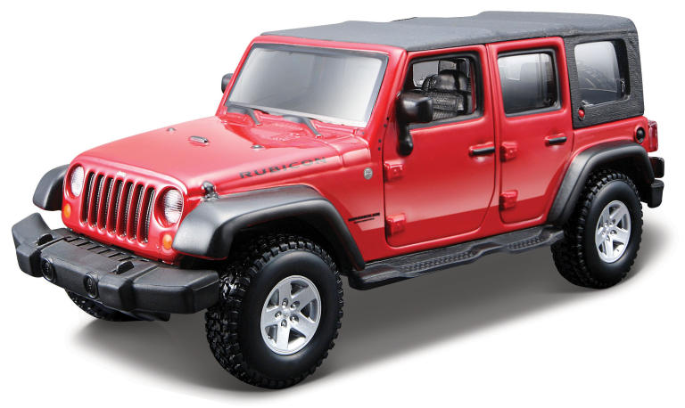 Jeep WRANGLER UNLIMETED RUBICON 2010(1:32)BBURAGO