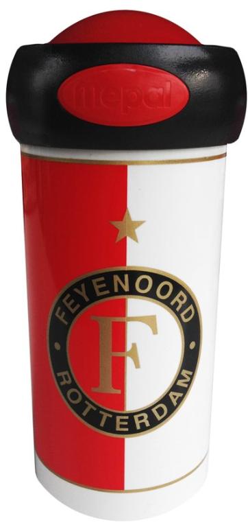 Schoolbeker Feyenoord Rood/wit