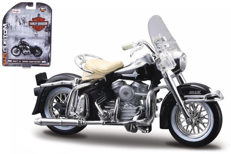 Harley-davidson FLH DUO GLIDE 1962 (MAISTO 1:24)