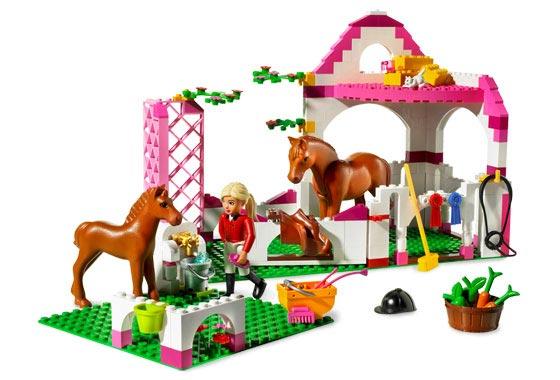 Belville Paardenstal Lego 7585