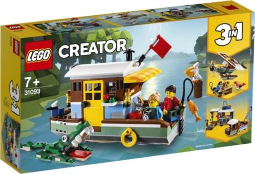 Woonboot aan de rivier Lego (31093)