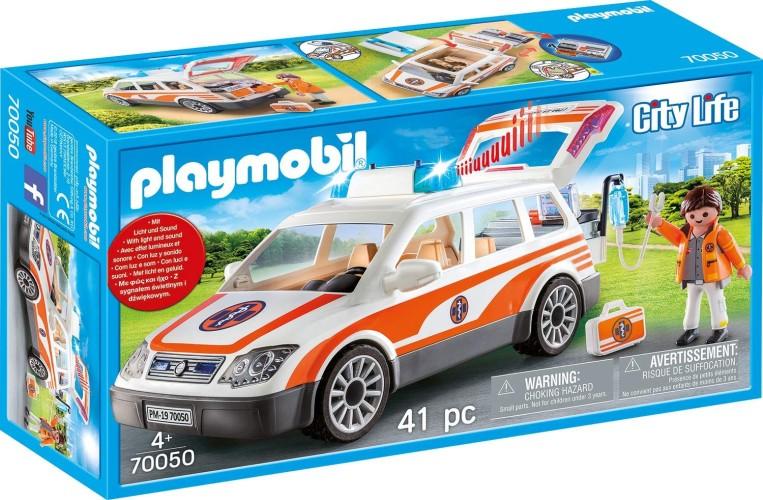 Mobiel medisch team Playmobil (70050)