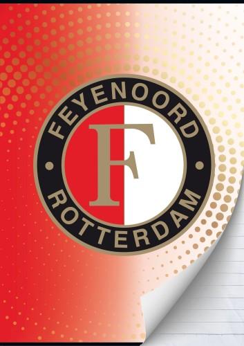 Schrift Feyenoord Dots A4 gelijnd (302443)