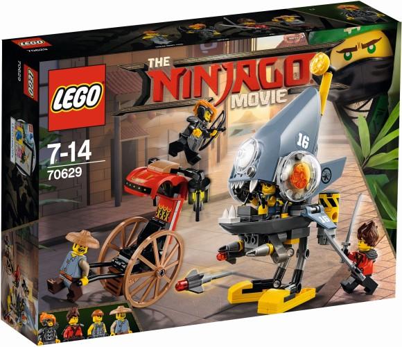 Piranha aanval Lego (70629)