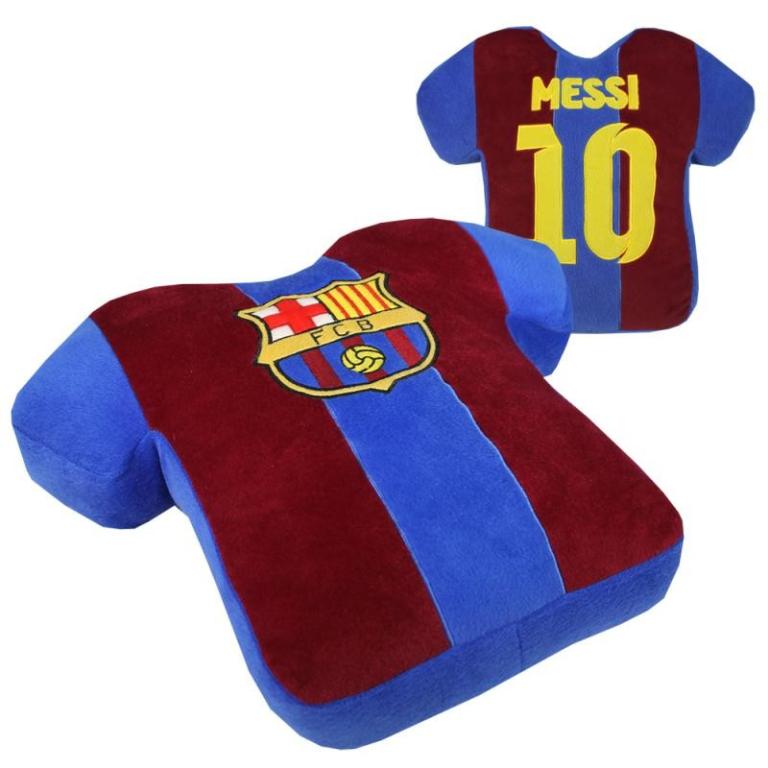 Shirtkussen FC Barcelona Messi Kussen 42 x 38 cm
