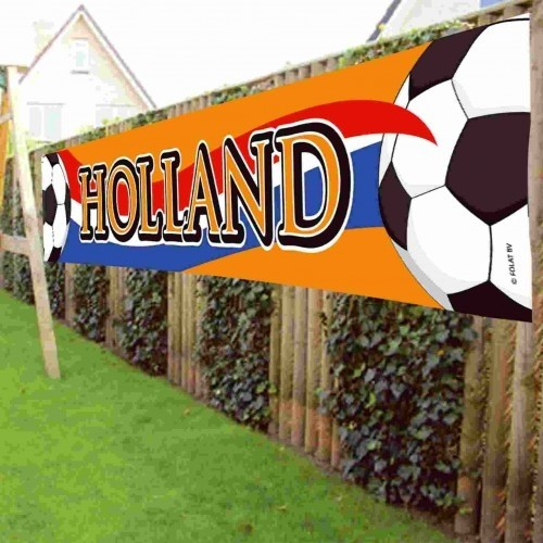 Banner Holland Groot Vlag