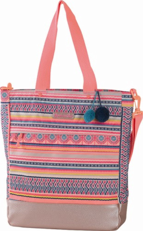 Shopper Accessorize Pink Stripe 40x32x11 cm (152ACF77277)