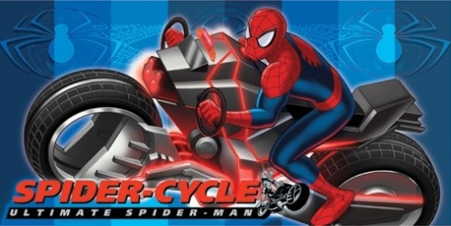 Marvel Badlaken Spiderman 4 Cycle 150x75