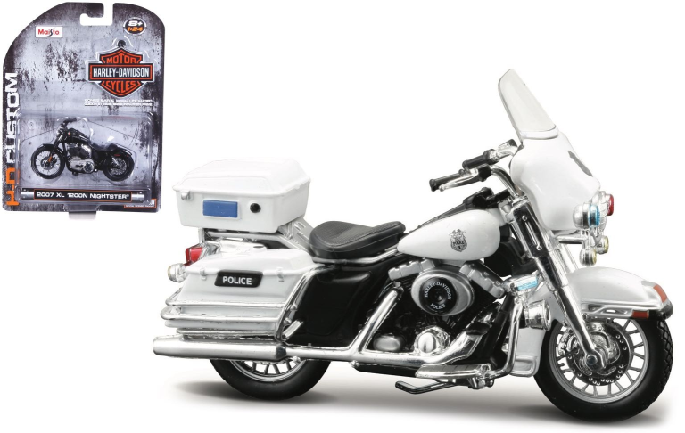 Harley-davidson FLHTPI ELECTRA GLIDE POLICE 2004 (MAISTO 1:24)