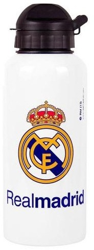 Bidon Real Madrid Wit Aluminium no 7  40 cl