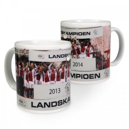 Ajax Mok Landskampioen 2014 / 9 x 8 cm