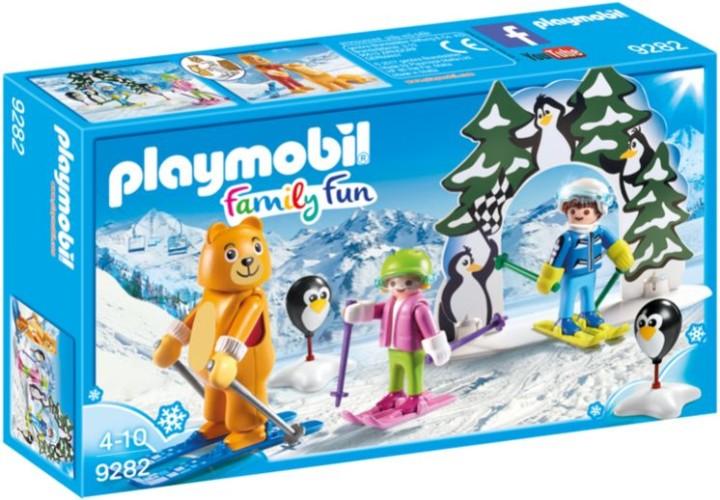 Skischooltje Playmobil (9282)