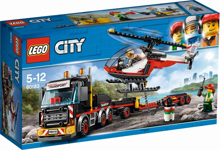 Helicopter Transport Lego (60183)