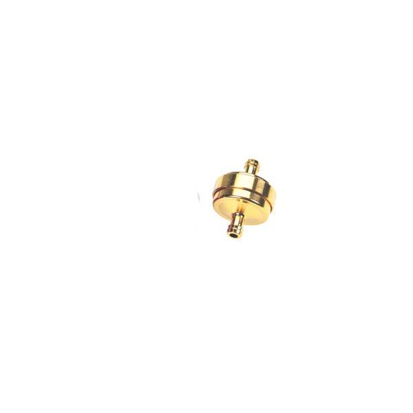 Benzinefilter 8 mm DMP Groot Goud
