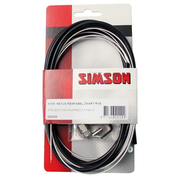 Simson remkabel Nexus RVS zw