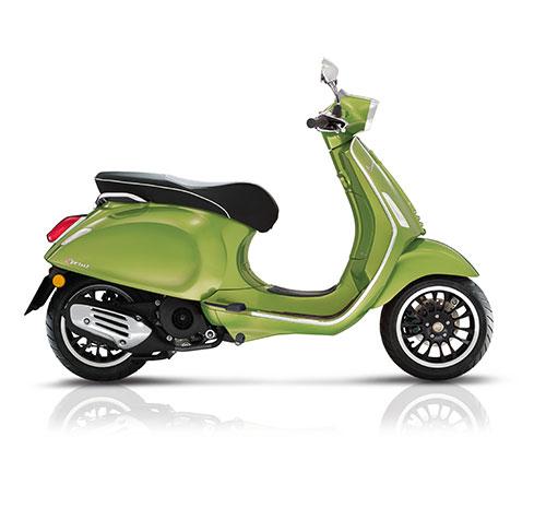 Vespa Scooter 25km Sprint 4t-2v Groen Metallic 341/ a