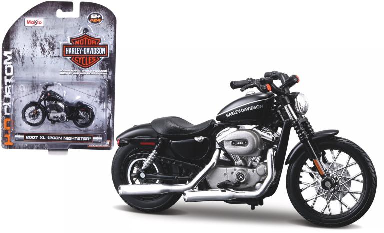 Harley-davidson XL 1200N (MAISTO 1:24)