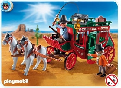 Postkoets Western Playmobil 4399