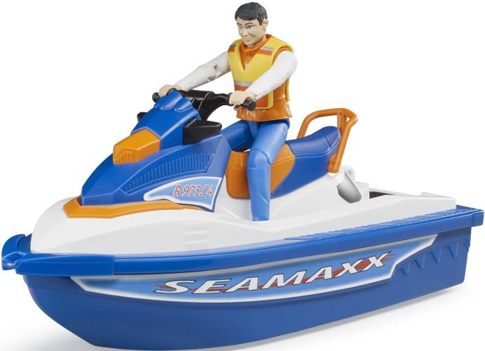 Waterscooter met Bestuurder Bruder (63150)