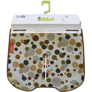 Qibbel windschermflap dots brown