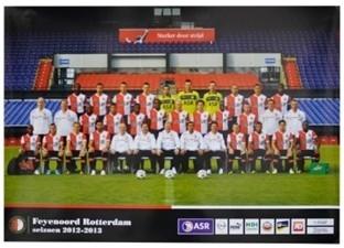 Feyenoord Poster Elftal 2012/2013