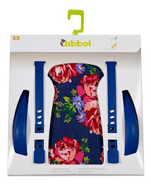Qibbel stylingset luxe Achterzitje Blossom Roses Blue