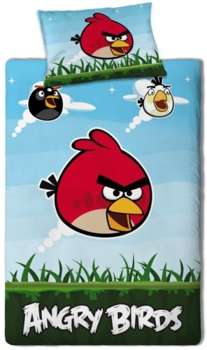 Angry Birds Dekbed Set 120X200CM